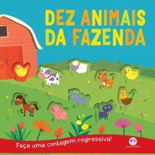 Dez Animais da fazenda Ciranda Cultural